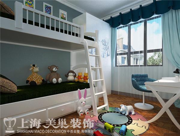 鑫苑世纪东城120平3室2厅现代简约风格装修效果图——儿童房装修效果图