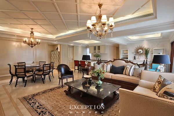 设计解读--客厅客厅的重要性在于人们将从这里开始品味整个空间的装饰风格。设计师选取颇具稳定信任感的大地色系,以温和雅致的调性还原生命本色,毫不张扬的配色平衡出无限的舒适之感。