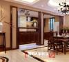绿地山鼎庄园206㎡中式古典风格
