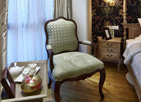 卧室沙发椅细节