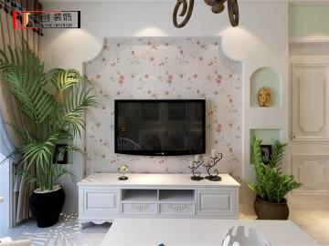 现代简约-87平米二居室装修设计