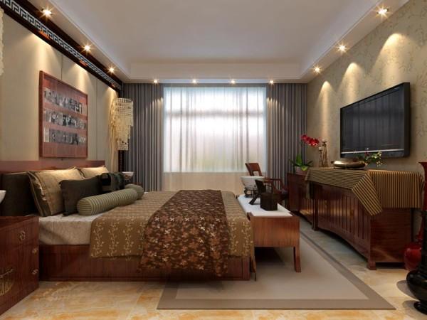 主卧室的设计效果