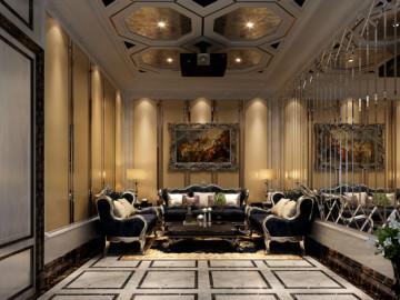 皇冠国际 500平米 新古典 别墅