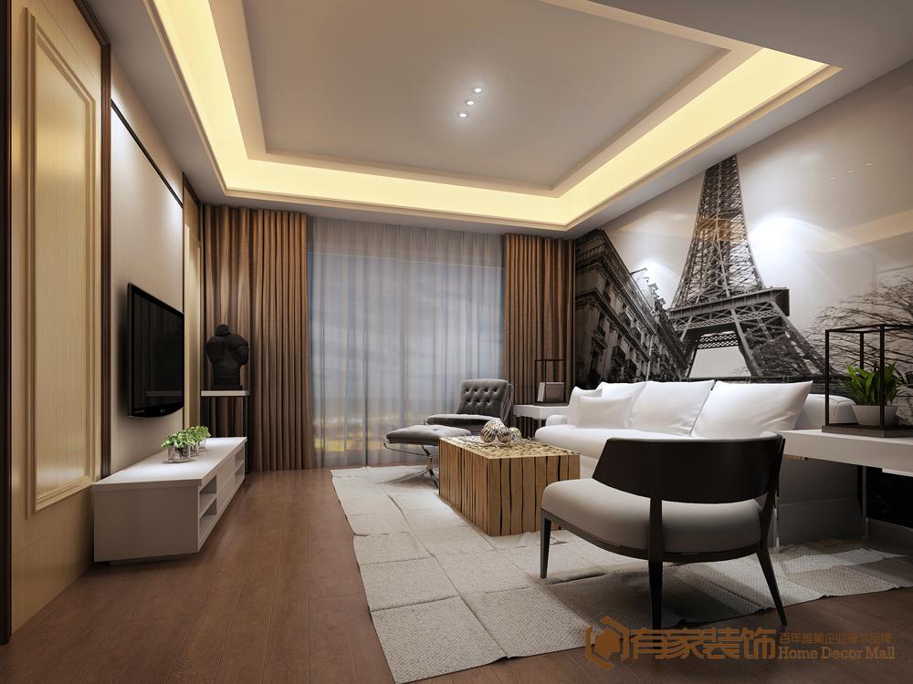 简约 现代 三居 客厅图片来自福州有家装饰-小彭在东方名城尚郡2#03的分享