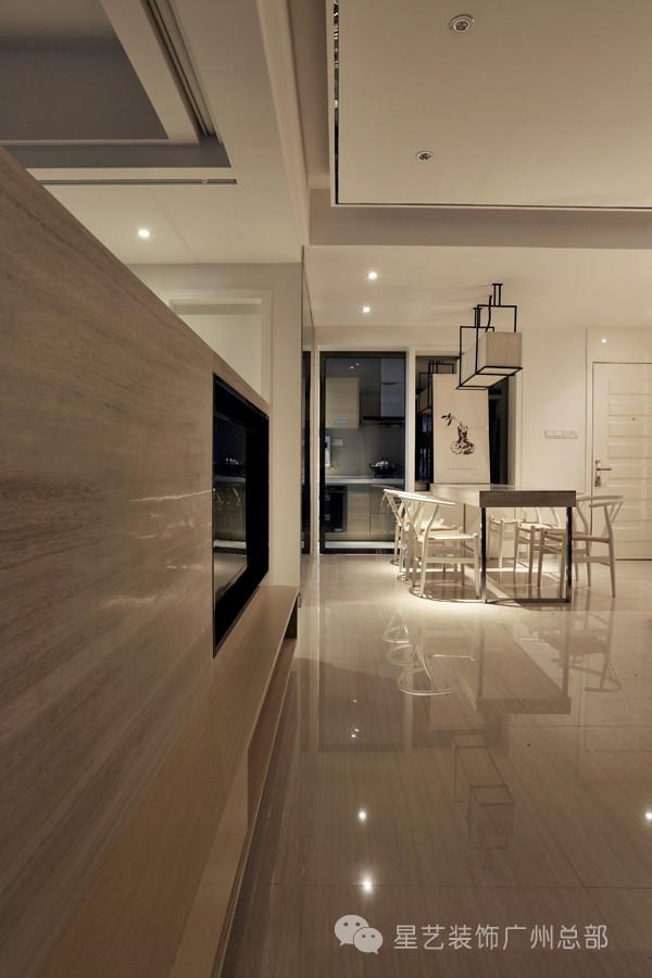 简约时尚电视背景墙设计 嵌入式让墙壁更平滑流畅
