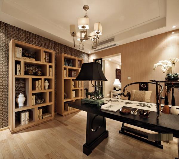 中式风格设计采用了原木,原木色泽,细致做工,再加古色古香伴随岁月流逝而增添的味道,这一切无不构成了淳厚的中国韵味
