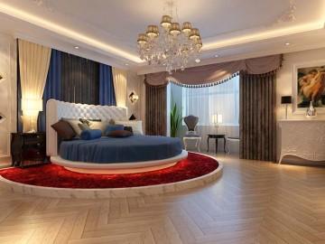 上海实创三居室新古典简单大方