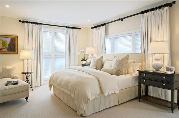 雍翠豪园夏先生新家卧室装饰效果图