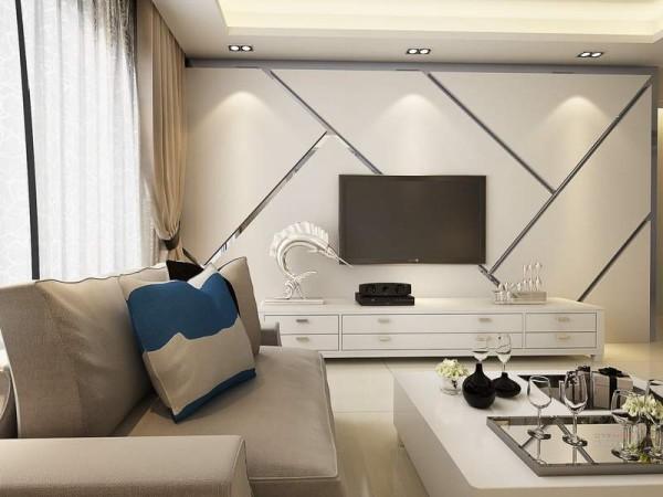 星河雅居阮先生新家客厅装饰效果图