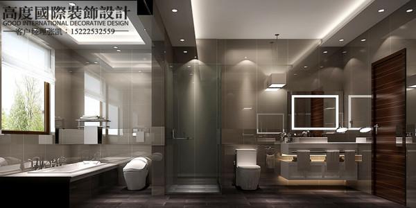 【卫生间设计】根据空间做出最合适的设计,也能符合主人的习惯的地方。