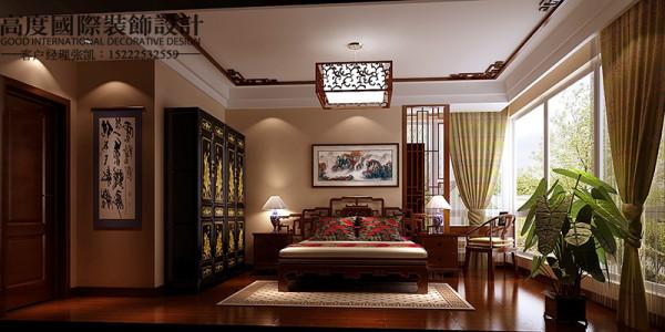 【卧室设计】这里是主人的私密空间,是休息的地方,本案中强烈的色彩对比设计,给人带来前卫、不受约束的感觉。