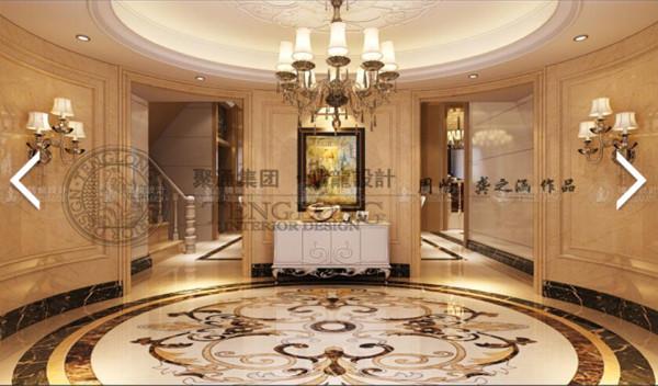 浦东阳光花满城325平别墅户型装修欧式风格设计方案展示,上海聚通装潢腾龙设计师周峻设计案例,欢迎品鉴!