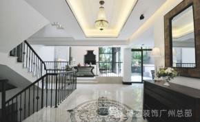 英伦风 别墅 古典 高富帅 餐厅 高雅 简洁 楼梯图片来自星艺装饰集团广州总部在现代英伦风别墅的分享