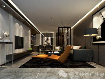 中海璟晖160平现代风格
