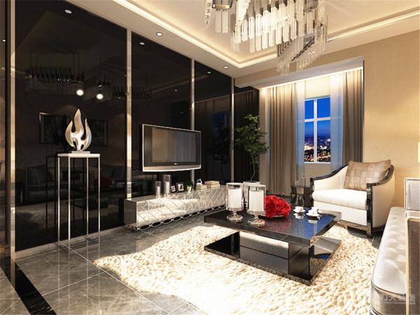该户型联发三室两厅一厨一卫111㎡。该户型整体风格是现代奢华风格。