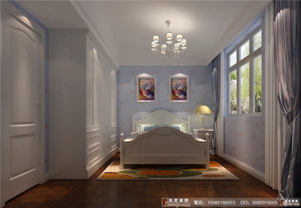 南湖国际卧室细节效果图-----成都高度国际装饰设计