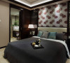 江河东澜湾 三室二厅 新中式风格