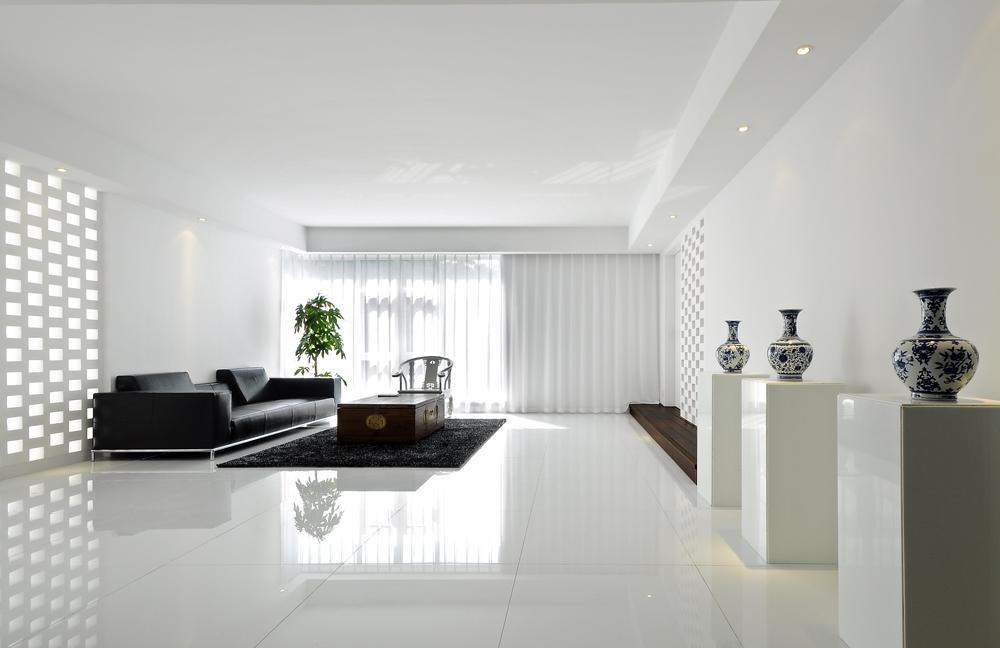 白色新中式风格欣赏