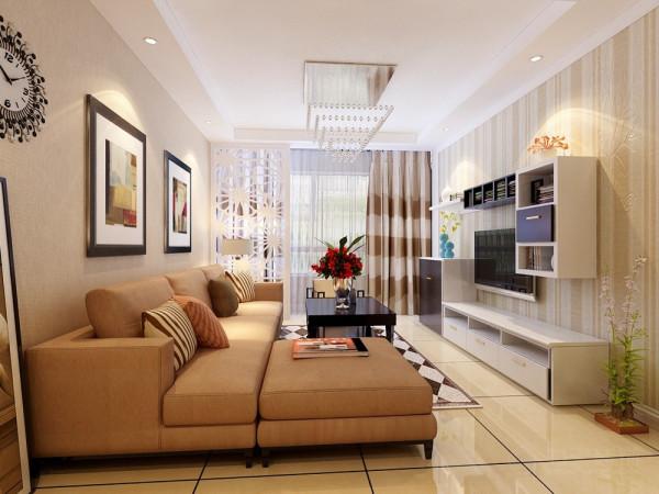 本案为华润中央公园准层户型2室2厅1厨1卫90㎡的户型。这次的设计风格定义为现代简约风格。