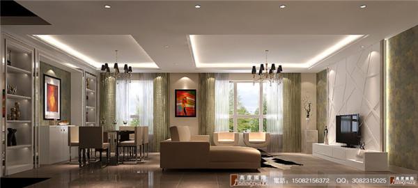 仁和春天客厅细节效果图----成都高度国际装饰设计