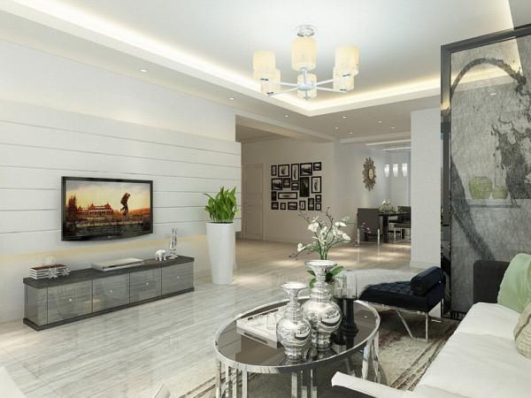 路劲太阳城四室一厅一厨两卫160㎡,方正明亮适于设计。我的设计风格是简约风格