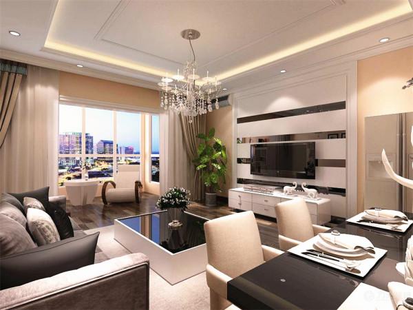 本方案的设计:客餐厅、卧室墙面以硅藻泥为主,硅藻泥有吸附甲醛的作用非常环保分别为黄色、粉色、黄色给人一种温馨舒适的感觉。