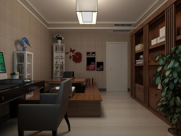 书房的设计效果2