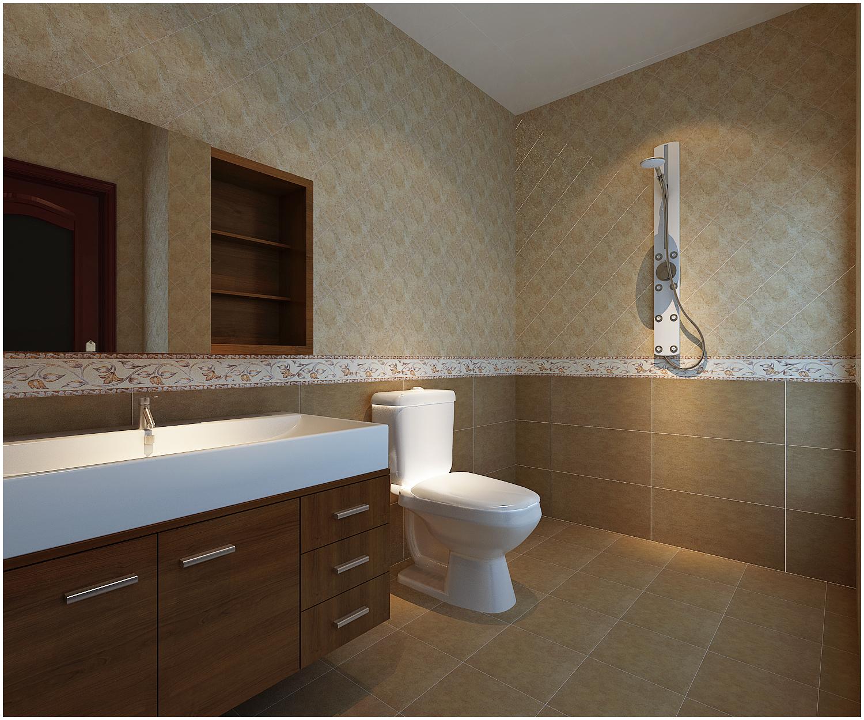 三居 美式 收纳 小资 卫生间图片来自快乐彩在尚乐城美式装修风格设计的分享