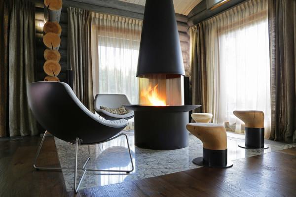 家居的设计非常独特,整个空间的色调相互融合。