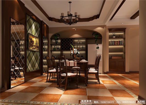 麓山国际餐厅细节效果图---成都高度国际装饰设计