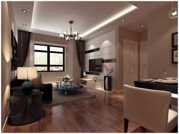 中海国际社区现代简约装修风格