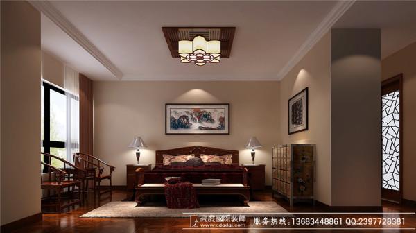 成都高度国际装饰设计—中粮祥云—卧室