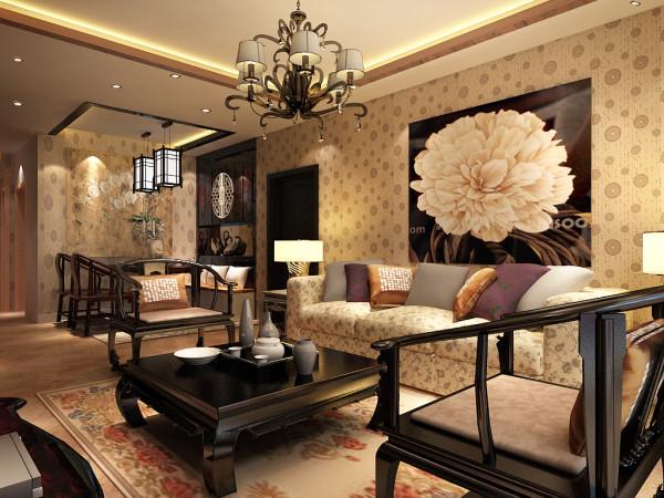 中式风格是以宫廷建筑为代表的中国古典建筑的室内装饰设计艺术风格,气势恢弘、壮丽华贵、高空间、大进深、雕梁画栋、金碧辉煌,