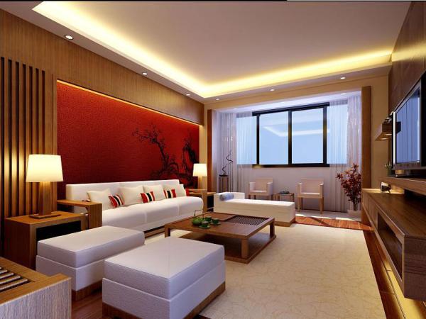 古朴的中式家具在整个空间中体现出了中式风格的味道,却又不缺乏现代的感觉。