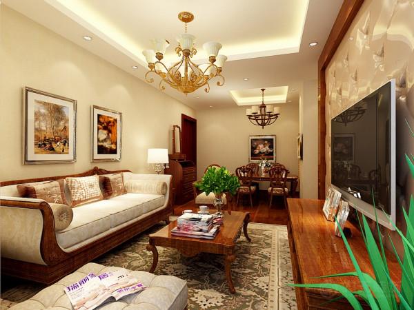 本户型在设计上,将本户型设计成古典的美式的设计风格,首先这种风格比较适合于业主的喜好,业主是一个成功的商人喜欢古典文化以及喜欢木质的熏陶。