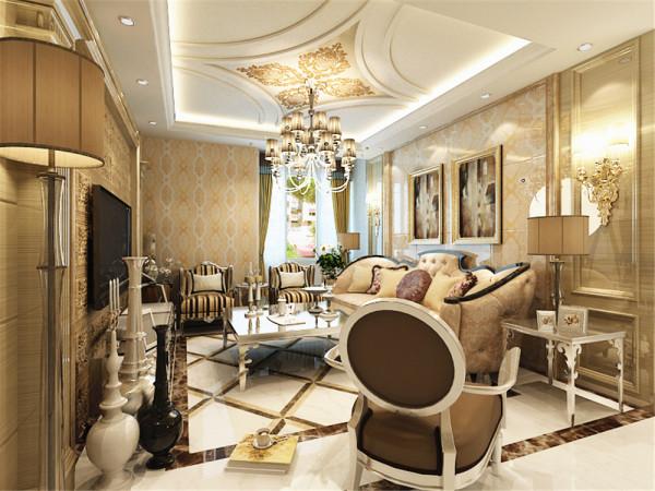 本户型是远洋万和城高层15号楼标准层Q户型三室两厅一卫95㎡,采用了欧式风格的设计。以营造典雅,自然,高贵的气质,是本方案的主题。