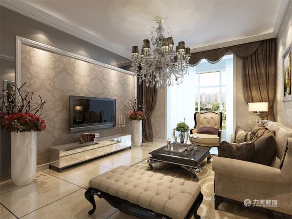 该户型福泽园三室两厅一厨两卫128㎡.我设计的是一简欧风格的作品。