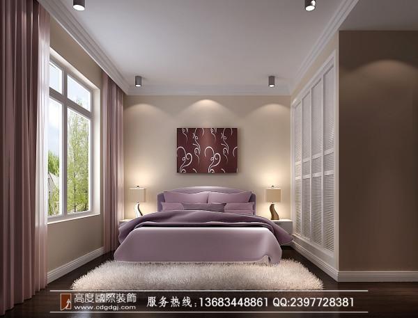 龙湖.悠山郡装修—成都高度国际—卧室效果图