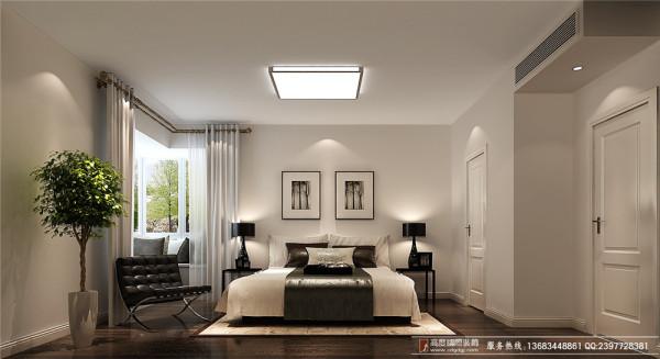 中环岛142㎡装修—成都高度国际—卧室细节效果图