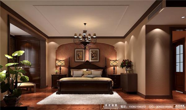南湖国际装修卧室细节效果图----高度国际装饰