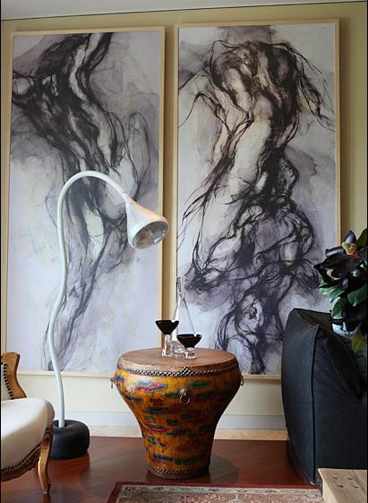 阿特米德最知名的设计之一——蛇颈灯