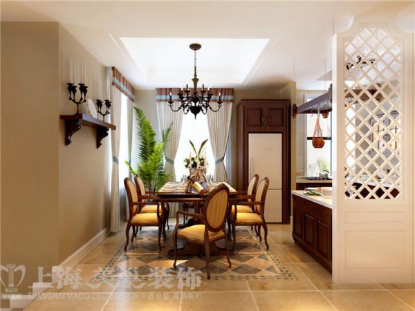普罗旺世140平错层3室3厅美式乡村风格装修效果图-客厅装修效果图