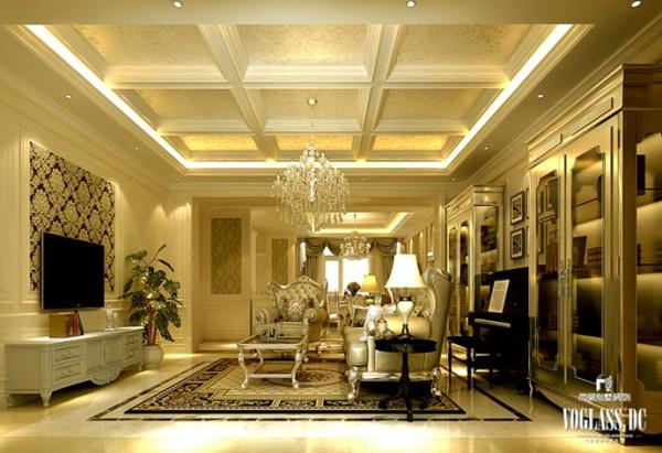 此次别墅设计方案在设计风格方面为法式新古典风格,客户要求家里的结构不要太过于硬朗,需要有点柔软的东西。