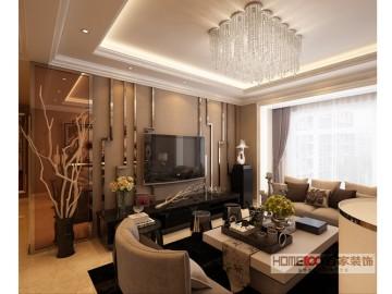 碧桂园银河城 150平港式风格
