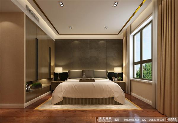 中环岛装修卧室细节效果图----高度国际装饰