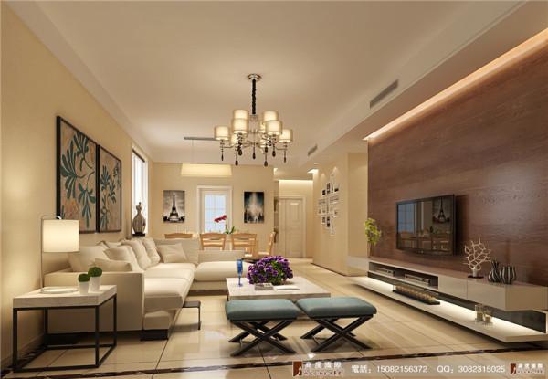 中环岛装修客厅细节效果图----高度国际装饰