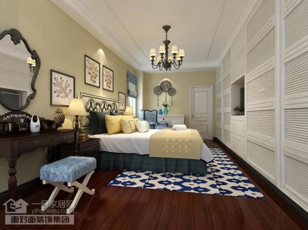 美地家园220平旧房改造卧室效果图