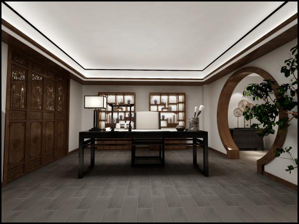 在设计风格定位上,加入了中式高端的设计经典元素,既不过分张扬,而又恰到好处地把硬朗平和之气渗透到每个角落,既突出别墅本身的自然优势又适当彰显业主的个人品味。