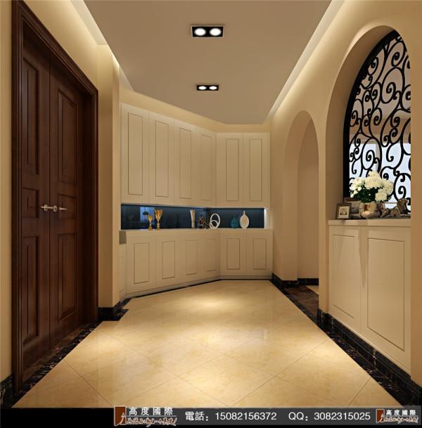 英郡装修门厅细节效果图---成都高度国际装饰