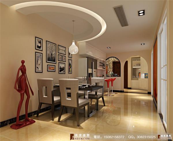 英郡装修餐厅细节效果图---成都高度国际装饰